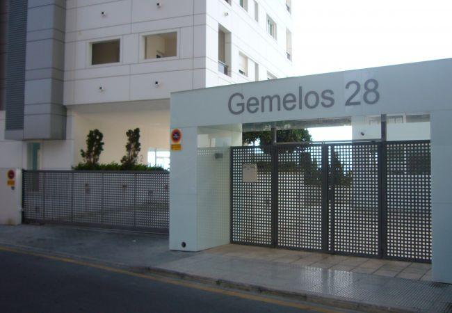 Appartement in Benidorm - GEMELOS 28 (2 DORMITORIOS)-2-dormitorios