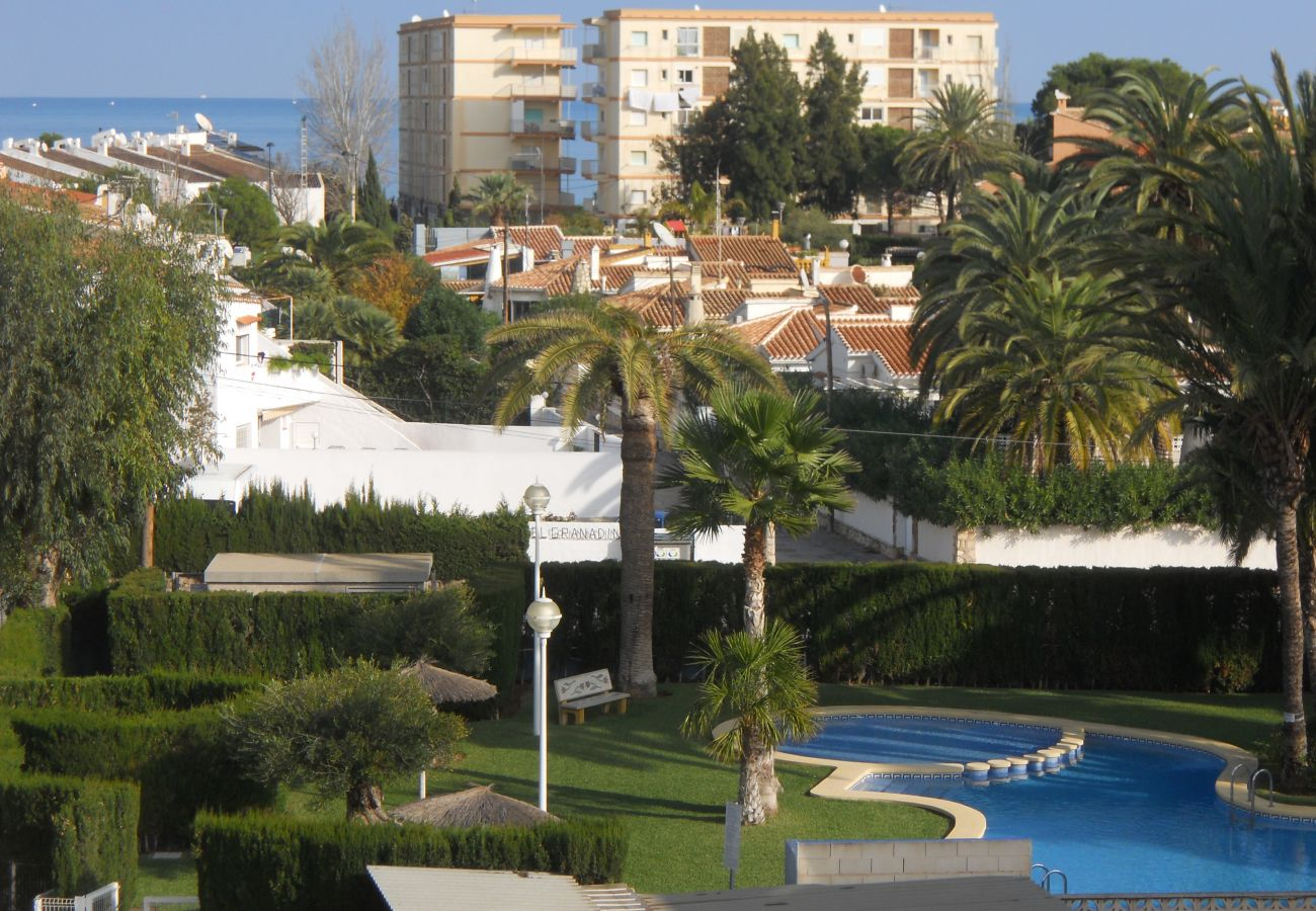 Appartamento a Denia - Apartamento ideal para familiascon parque infantil,piscina y jardin