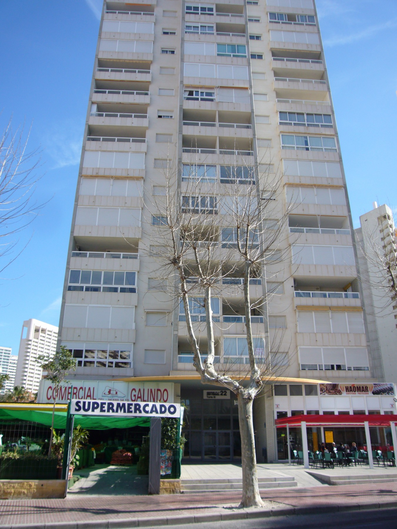 Gemelos 22 apartments for rent in Benidorm