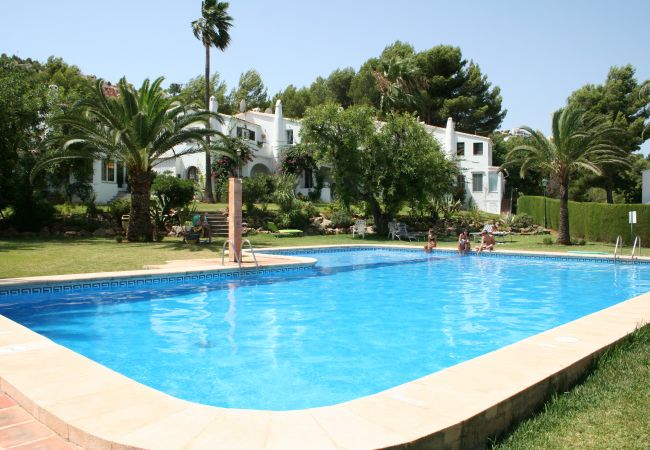 Bungalow in Pedreguer - Accommodation with garden views and air conditioning in La Sella.